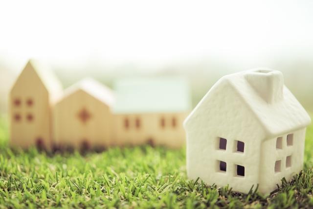 住宅ローン借り換え交渉中の家
